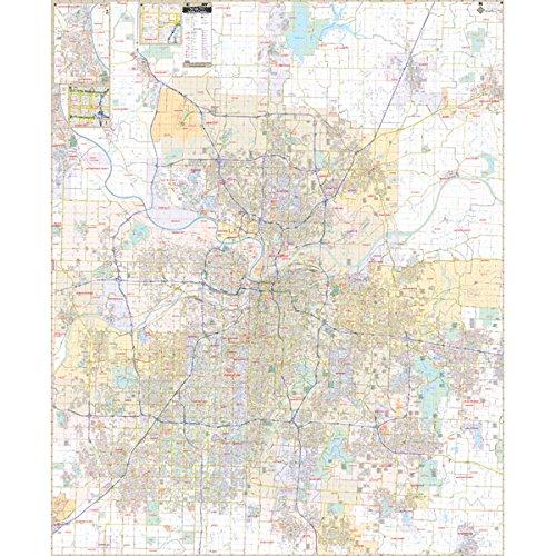 Kansas City Map Amazoncom