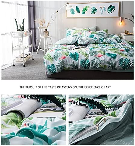 NO Comforter NO Sheet 【Latest Arrival】 Modern Plaid Duvet Cover Twin for Kids Adults 100/% Cotton Dark Blue Bedding Set 3 Pieces with Ties Zipper