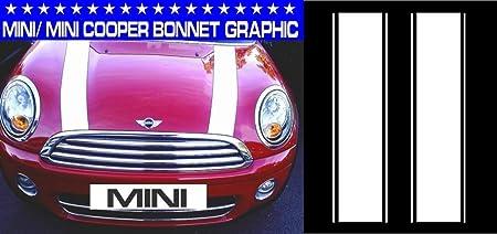 Mini Mini One Mini Cooper Bonnet Stripes Car Vinyl Graphics