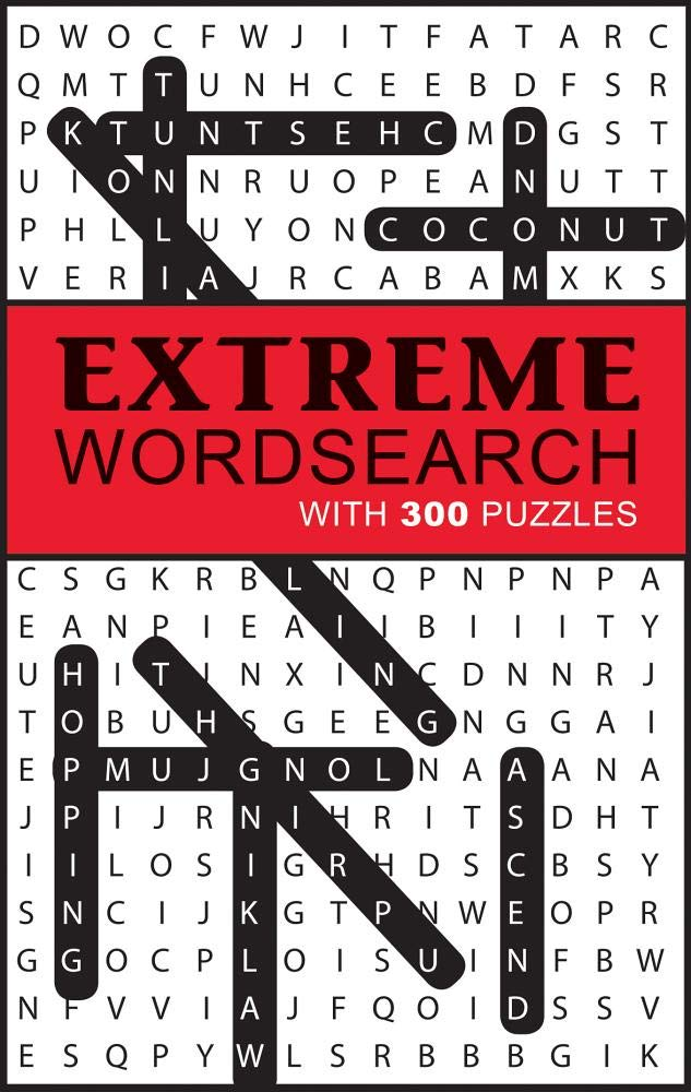 Extreme Word Search 300 Puzzles product image