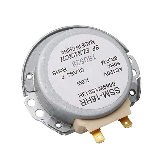 Motor de tocadiscos para microondas, 4,86 mm, ancho de eje ...