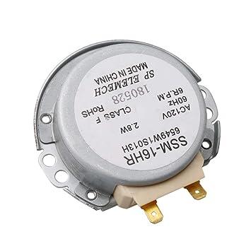 Motor de tocadiscos para microondas, 4,86 mm, ancho de eje de ...