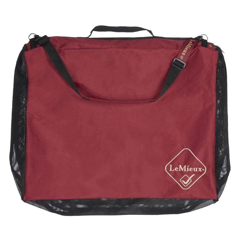 LeMieux Saddlepad Tidy Bag - Burgundy Horse Health Limited