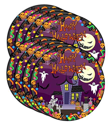 happy halloween party celebration supplies set paper plates napkins