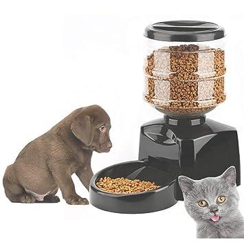 MSQL Dispensador automático programable de Alimentos para Mascotas ...