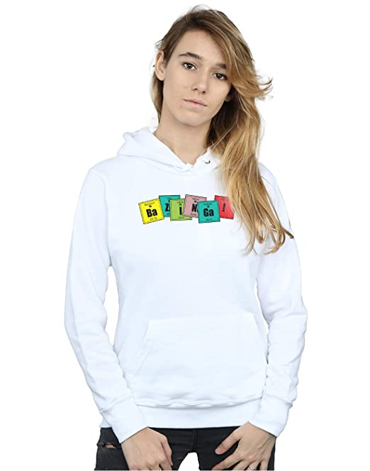 0133894f4370a The Big Bang Theory Mujer Bazinga Elements Capucha  Amazon.es  Ropa y  accesorios