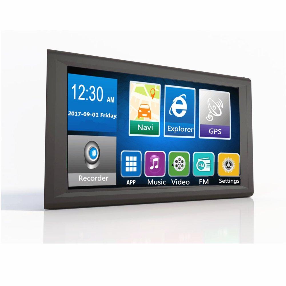 ETbotu Navegador GPS para coche grabador de datos 8 GB 1080p Android 4.2.2 GPS y Tac/ógrafo