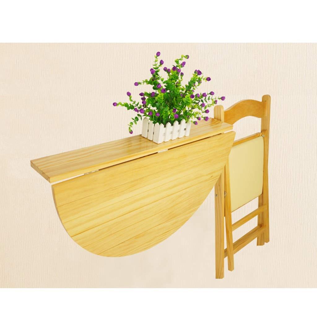 Amazon.com: Semicircle - Mesa plegable de pared, mesa ...
