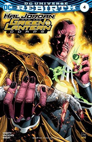 Lantern Four Green - Hal Jordan and the Green Lantern Corps #4 Comic Book