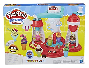 Play-Doh Super Heladeria (Hasbro E1935EU6): Amazon.es: Juguetes y ...