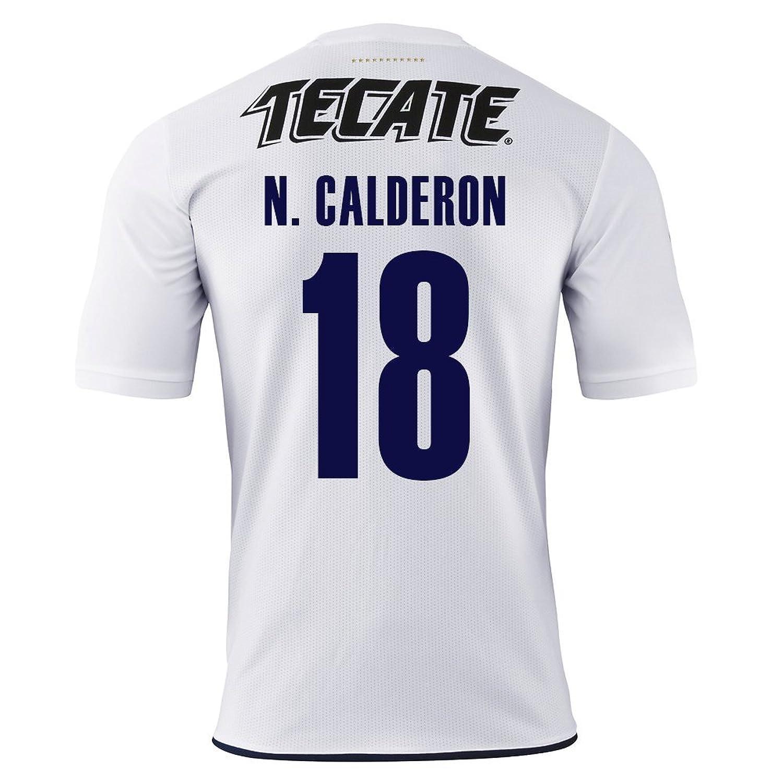 Puma N Calderon # 18 Chivas Guadalajara Away Soccer Jersey 2016 / 17 B01MDULZFKS