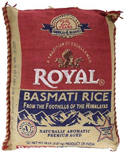 (SCS Royal® Basmati Rice - 20 Lbs.)