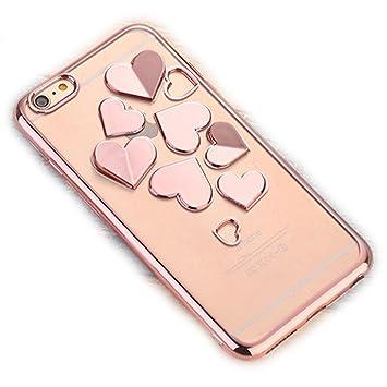 a8ab7d0823 iPhone6 iPhone6s ケース ハート キラキラ クリア かわいい 衝撃吸収 カバー アイフォン6 保護 おしゃれ シリコン iPhone6