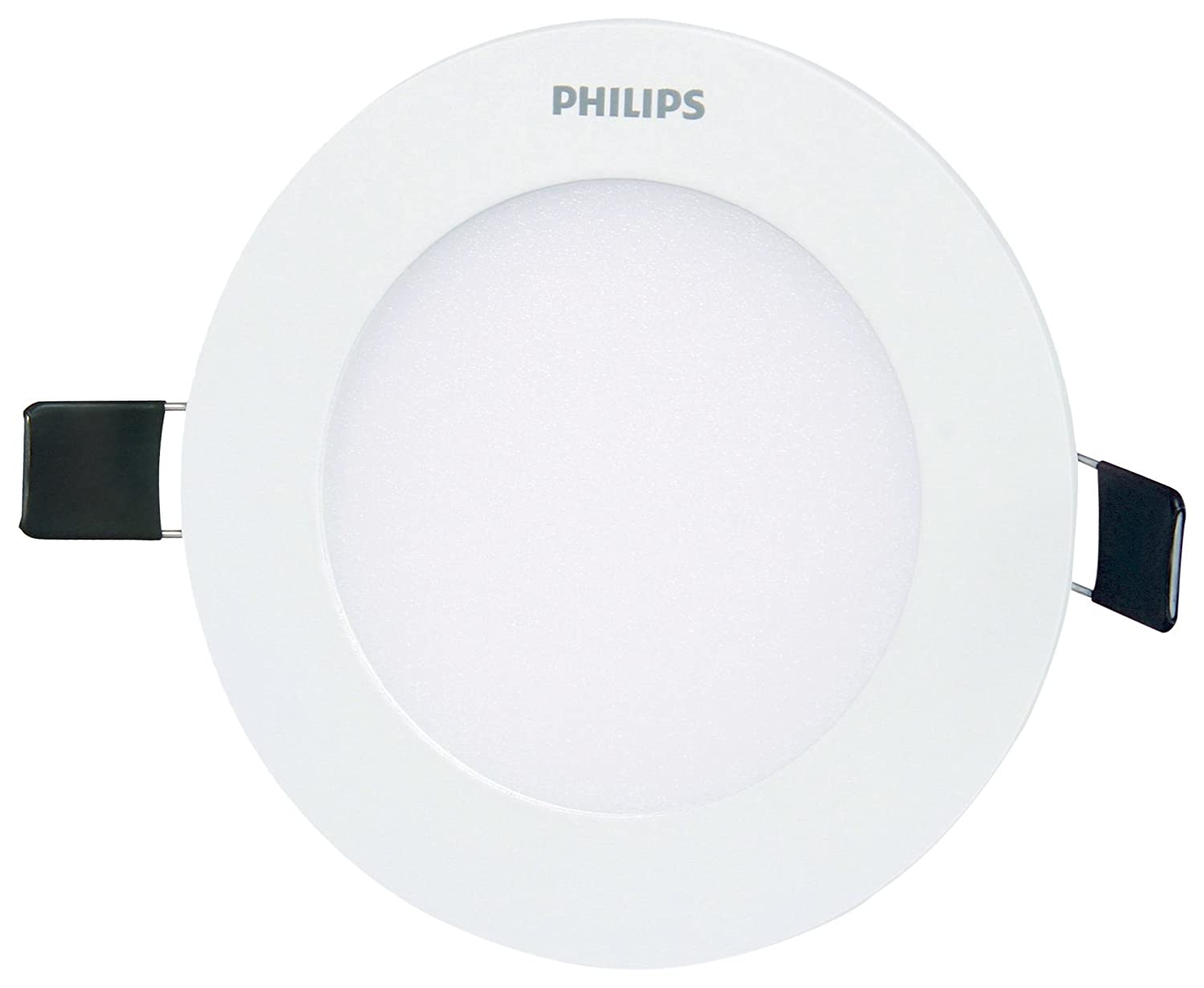 Philips ultra slim plus 7 watt recessed led panel cool day light philips ultra slim plus 7 watt recessed led panel cool day light round amazon home kitchen aloadofball Gallery