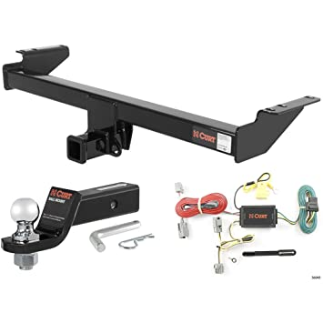Curt Cl 3 Trailer Hitch Tow Package with 2in Ball for 2005-2014 Volvo Xc Trailer Wiring Harness on