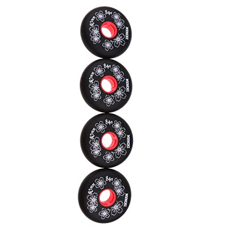 MagiDeal 4 Pieces Inline Roller Hockey Fitness Skate Replacement Wheel 84A