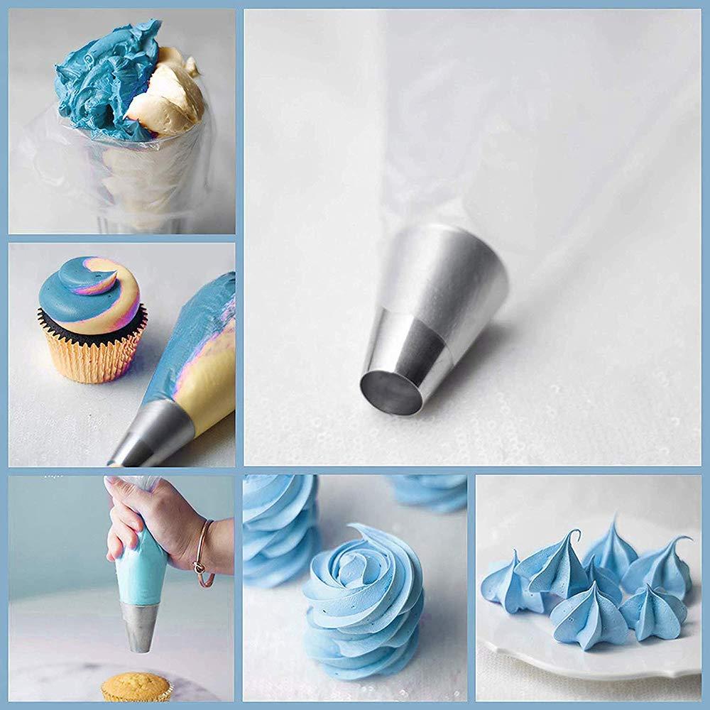 Amazon.com: Meao - Bolsas de pastelería desechables, gruesas ...