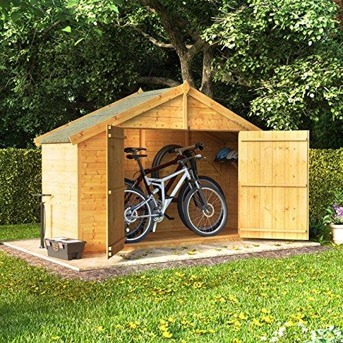3 x 8 la lengua y Groove de madera Apex bicicleta ...