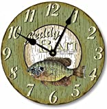 Item C5001 Retro Vintage Style Fish Clock (12 Inch Diameter) Review