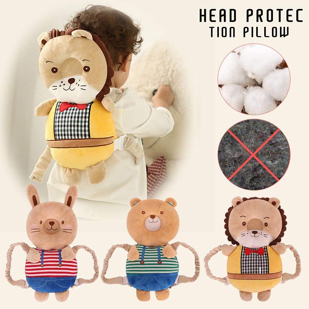 Sicherheitskissen f/ür das Baby beugt Kopfverletzungen vor den Nacken und die Schulter /24/Monate sch/ützt den Kopf verstellbar Baby Kleinkinder Kopfschutz geeignet f/ür die Altersgruppe von 4/