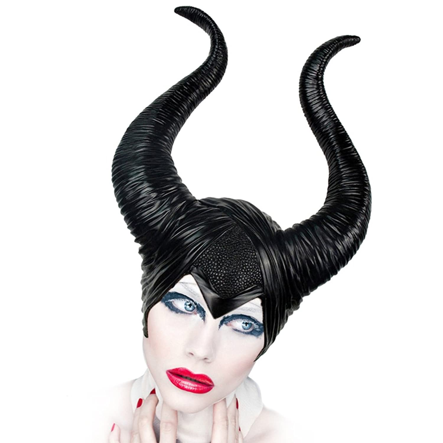 Maleficent Costume Headpiece Halloween Horn is perfect for Masquerade Parties, Gifts, Costume Parties, Carnival, Christmas, Easter, New Years Eve Party, Halloween