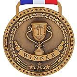 gymnastics gold medal - 1st Place Winner Gold Award Medal, Antique Gold
