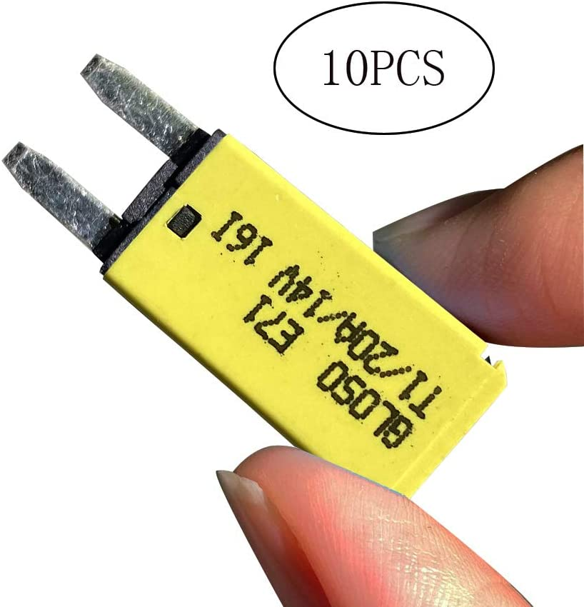 JamgoerDC 14V 10PCS Auto-Reset 25 Amp ATM Mini Circuit Breaker For Car//Truck//Boat