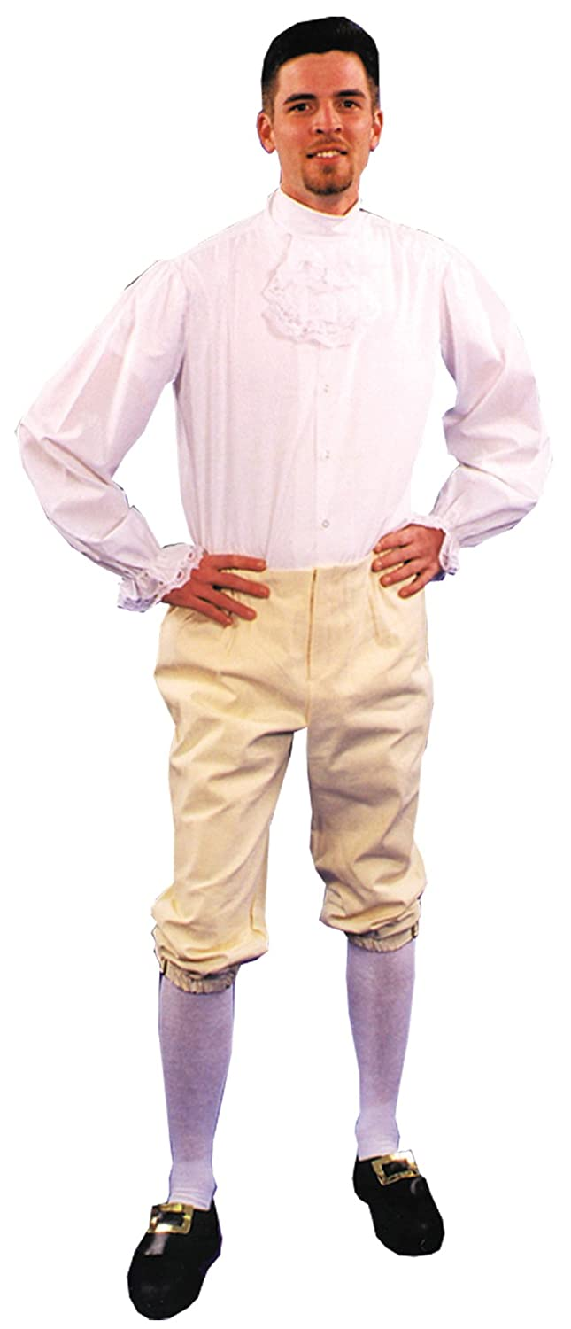 UHC Men's Colonial Breeches Adult Outfit Holiday Theme Fancy Costume