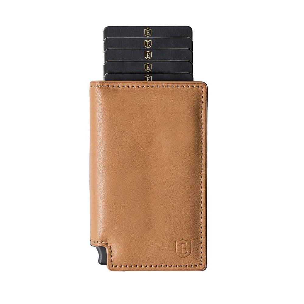 Ekster: Parliament Slim Leather Wallet- RFID Blocking- Quick Card Access
