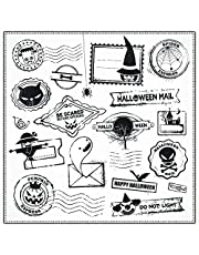 ZFPARTY Halloween Typical Characters and Monsters Clear Stamps Scrapbook Paper Craft Clear Stamp Scrapbooking