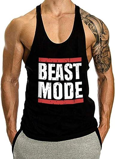 Beast Mode Loading Tank Top Vest Muscles Bodybuilding Gym