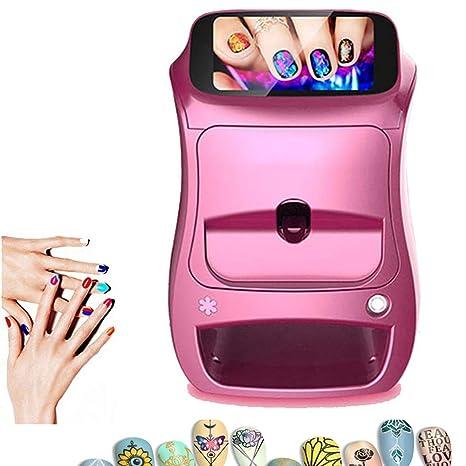 Oito Impresoras de uñas 3D Máquina de Pintura portátil ...