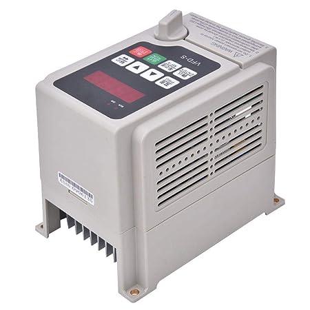Convertidor de frecuencia VFD, entrada monofásica de 220 V ...