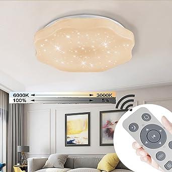 YESDA LED Deckenleuchte Deckenbeleuchtung Wohnzimmer Deckenlampe Korridor Schlafzimmer  Schönes Mordern Lampe (36W Dimmbar)