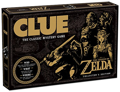Clue The Legend of Zelda Board Game| Themed Clue Nintendo Zelda Video Games| Solve the Mystery -