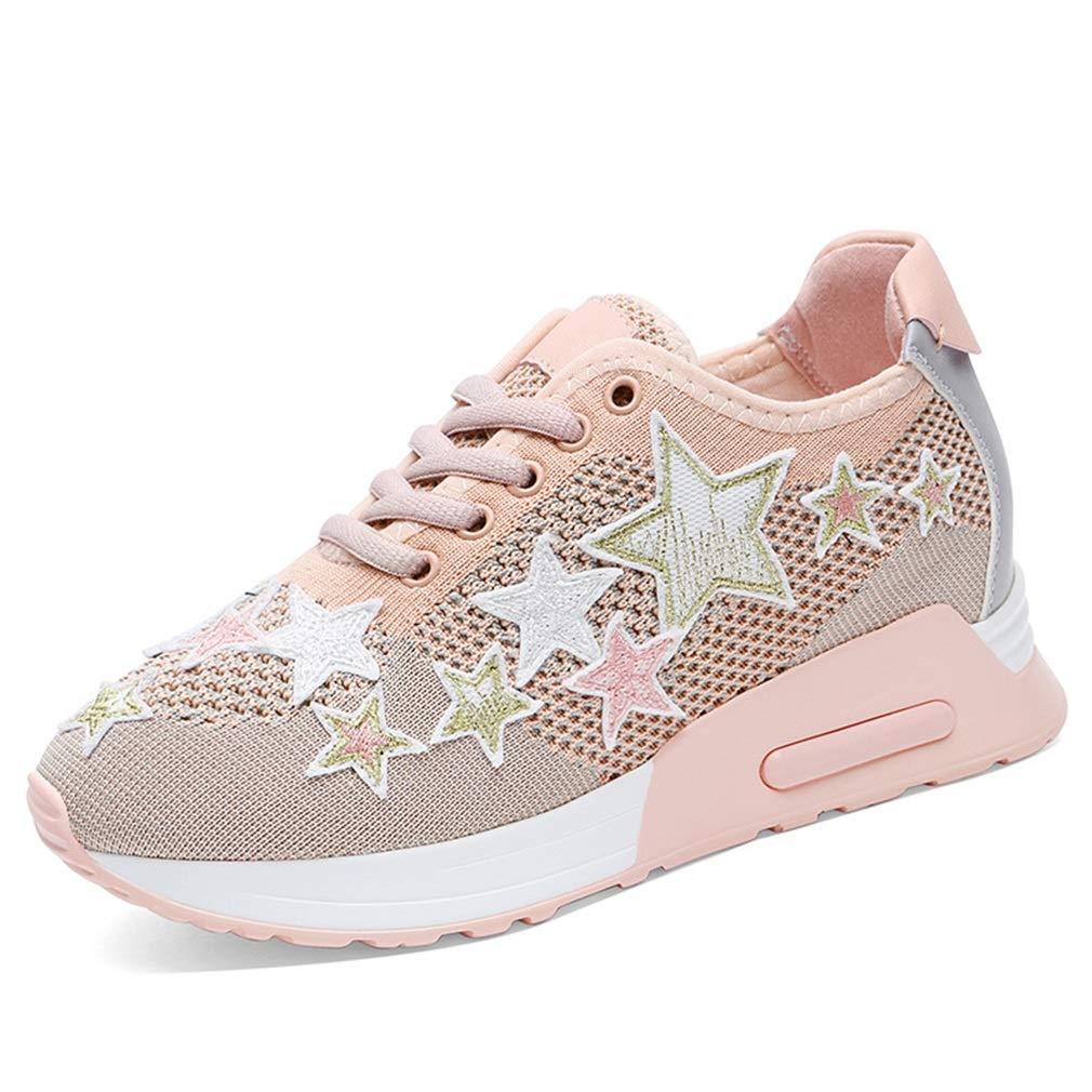 YAN baskets pour Femme 2019 New Mesh Casual Air Cushion Chaussures de Course Academy Chaussures de Sport pour Femmes Chaussures de Sport (Couleur   B, Taille   36) B