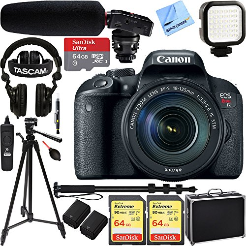 Canon EOS Rebel T7i Digital SLR Camera with EF-S 18-135mm IS