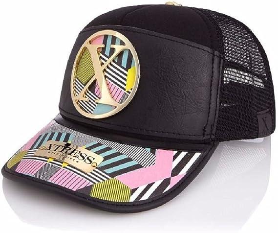 Gorra negra con colores fantasía para hombre y mujer: Amazon.es ...