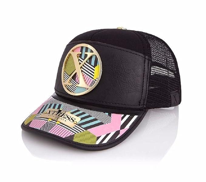 Xtress Exclusive Gorra negra con colores fantasía para hombre y mujer: Amazon.es: Ropa y accesorios
