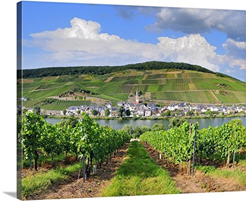Germany, Moselle Valley, Zell an der Mosel, Merl Canvas Wall Art Print