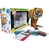 Aurodo Pocket Zoo 4D Educational Game for Kids - 32 Augmented Reality Animal Toys for Girls & Boys (Age 2-10 Years)