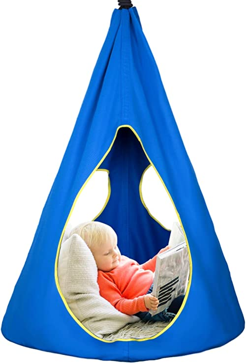 Shinyever Hammock Hanging Chair Swing Chair For Kids Children S