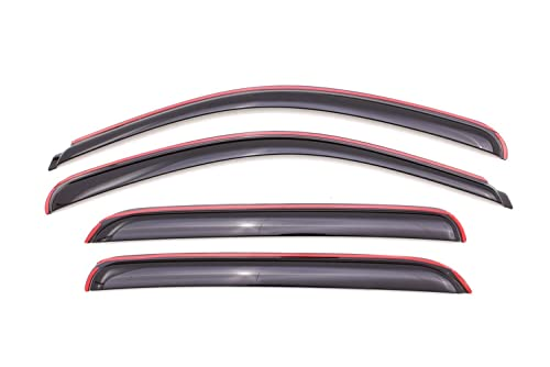 Auto Ventshade 194515 In-Channel Ventvisor Side Window Deflector