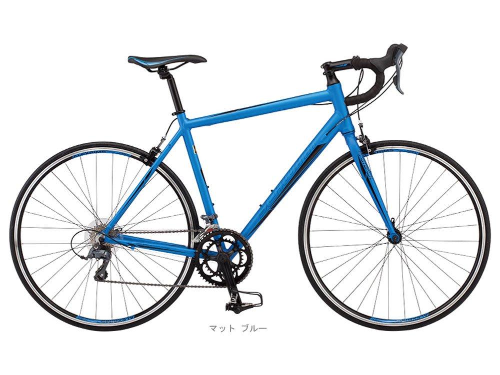SCHWINN(シュウィン) 2018 FASTBACK 3(ファストバック 3) (クラリス 2x8速) ロードバイク <マット ブルー> B0798N53X2M-L