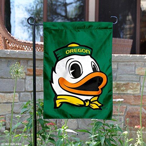 Oregon Ducks The Duck Garden Flag