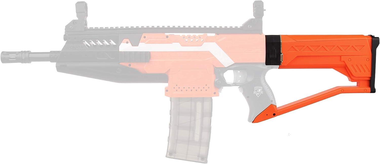 WORKER F10555 NO.177 Submarine Stock Attachment for Nerf N-Strike Series Blaster