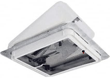 roof vent fan electric cr laurence v209437 crl white 14quot plexiglass roof vent with built 14