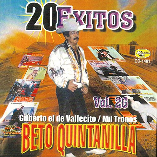 Beto Quintanilla Stream or buy for $9.49 · 20 Exitos