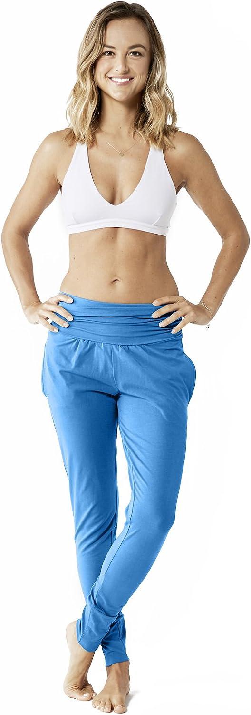 Lotuscrafts Yogahose Damen Lang aus Bio-Baumwolle bei amazon kaufen
