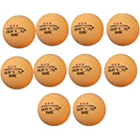 Vipithy 10 piezas de pelota de ping pong de plástico actividad recreativa pelotas de tenis de mesa